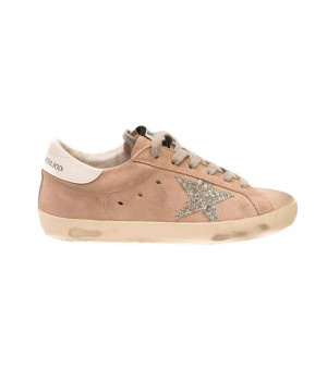 Кеды Golden Goose  'Superstar'  персиковые