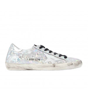 Кеды Golden Goose  'Superstar' 3d silver