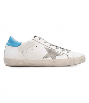 Кеды Golden Goose  'Superstar' blue backdrop