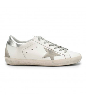 Кеды Golden Goose  'Superstar' silver backdrop