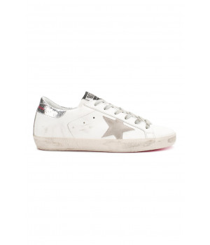 Кеды Golden Goose  'Superstar' neon pink