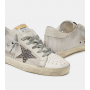Купить Кеды Golden Goose  'Superstar' in mesh with leopard-print star в Кеды и кроссовки Golden Goose Deluxe Brand