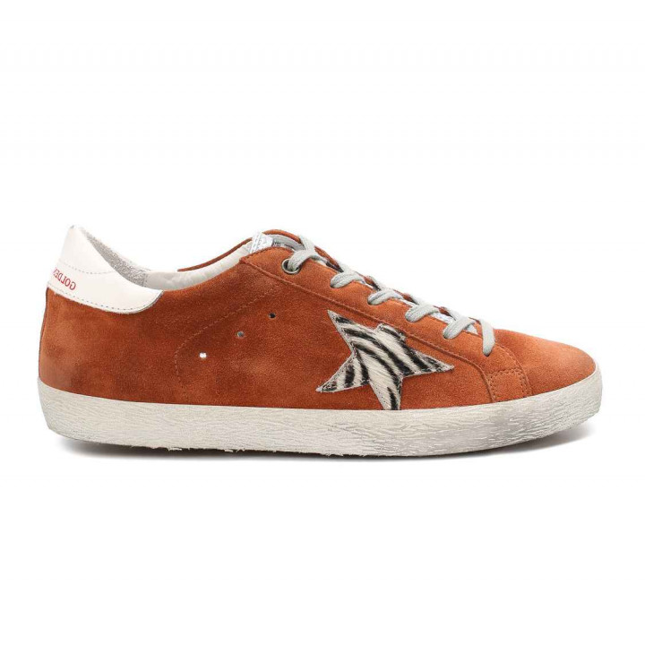 Купить Кеды Golden Goose  'Superstar' orange