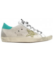 Кеды Golden Goose  'Superstar' canvas  beige