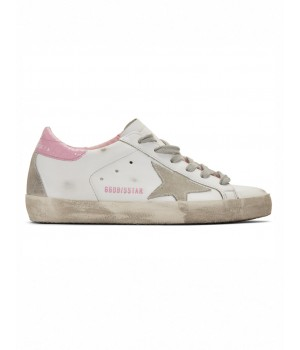 Кеды Golden Goose  'Superstar' pink heel