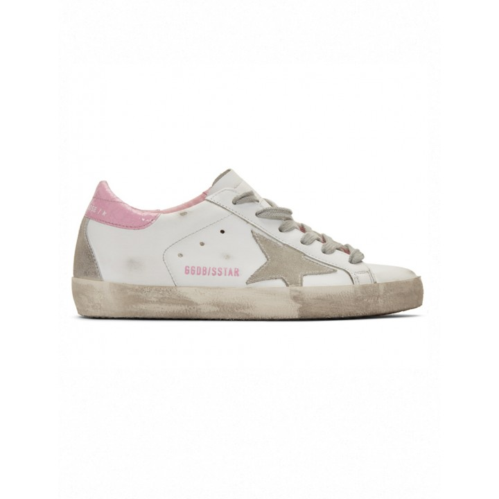 Купить Кеды Golden Goose  'Superstar' pink heel