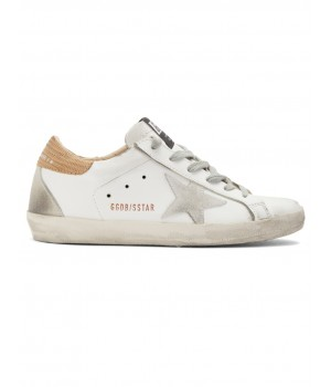 Кеды Golden Goose  'Superstar' White Lizard