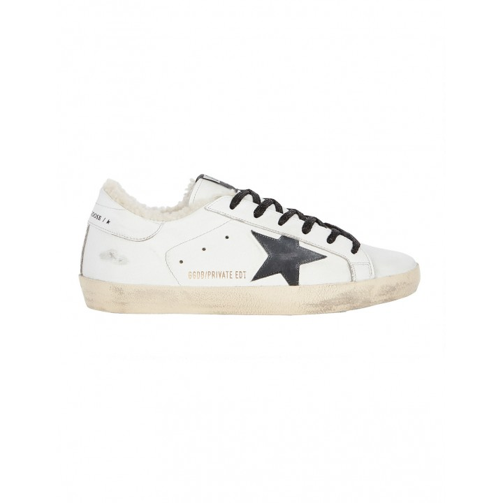 Купить Кеды Golden Goose  'Superstar' с овчиной